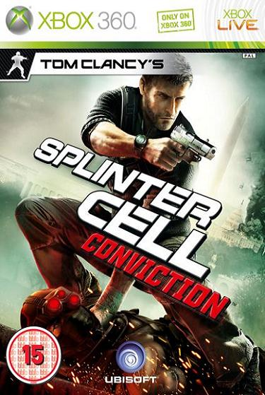 Tom Clancys Splinter Cell Conviction Xbox 360 Game