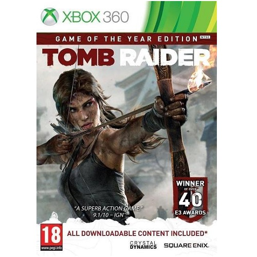 Tomb Raider Game of the Year Edition Xbox 360 Game