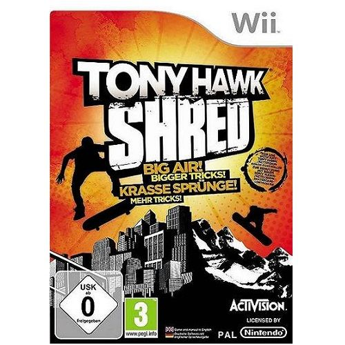 Tony Hawk Shred (with board) Nintendo Wii Game