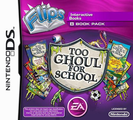 Too Ghoul For School 8 Books (FLIPS) Nintendo DS Game