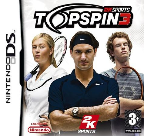 Top Spin 3 Nintendo DS Game
