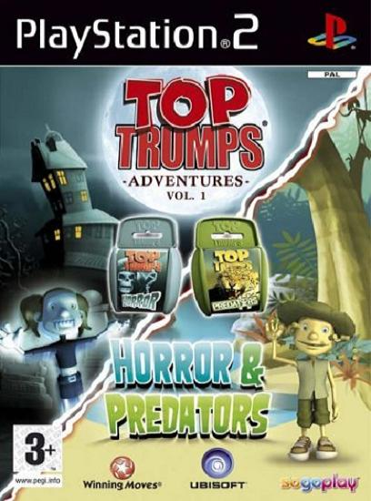 Top Trumps Horror & Predators PS2 Game