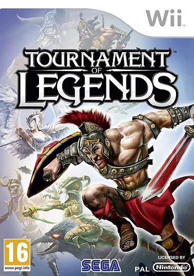 Tournament of Legends Nintendo Wii Game