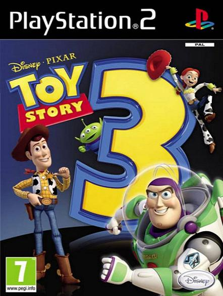 Toy Story 3 PS2 Game