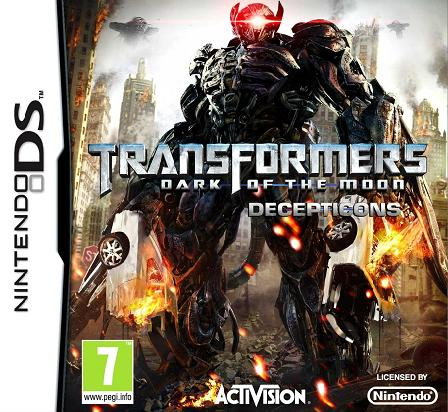 Transformers Dark of the Moon Decepticons Nintendo DS Game