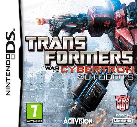 Transformers War for Cybertron Autobots Nintendo DS Game