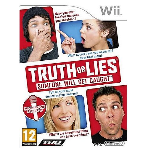 Truth or Lies Nintendo Wii Game