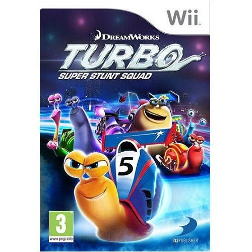 Turbo Super Stunt Squad Nintendo Wii Game