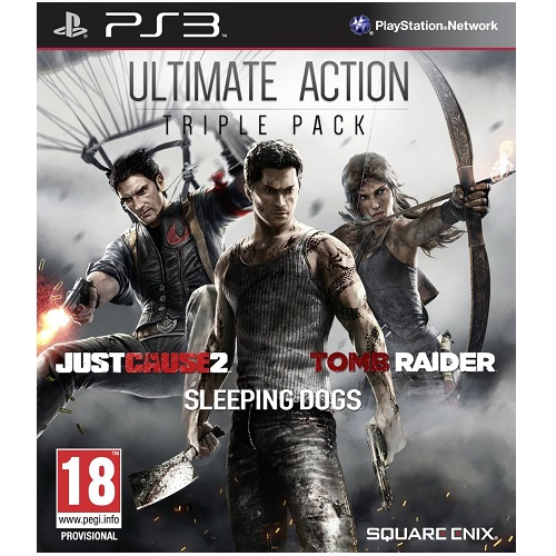 Ultimate Action Triple Pack PS3 Game