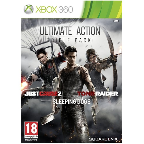 Ultimate Action Triple Pack Xbox 360 Game