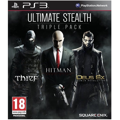 Ultimate Stealth Triple Pack PS3 Game