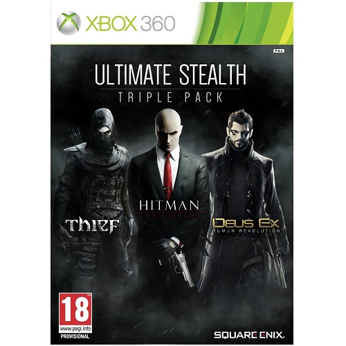 Ultimate Stealth Triple Pack Xbox 360 Game