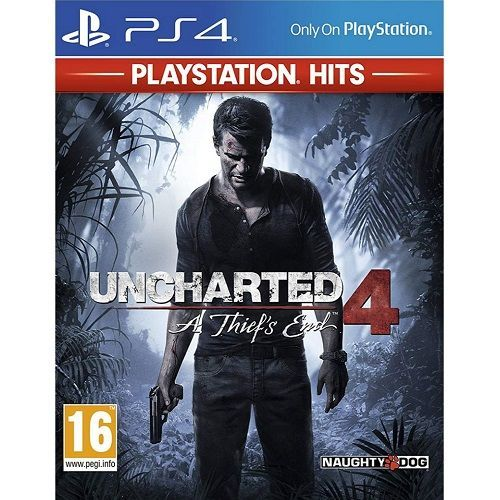 Uncharted 4 A Thiefs End PlayStation Hits PS4 Game