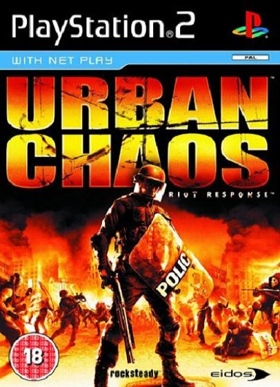 Urban Chaos Riot Response PS2 Game