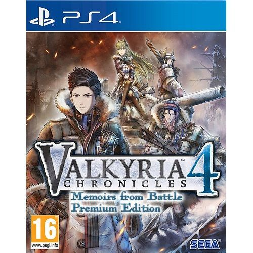 Valkyria Chronicles 4 Memoirs from Battle Premium Edition PS4 Game