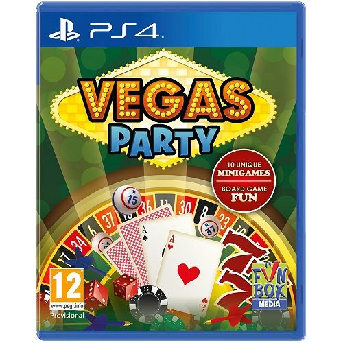Vegas Party PS4 Game