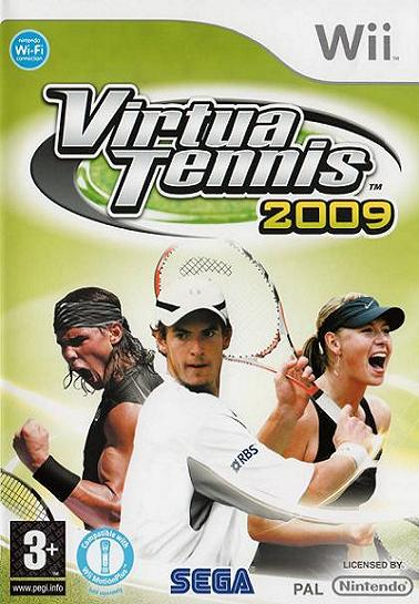 Virtua Tennis 2009 Nintendo Wii Game