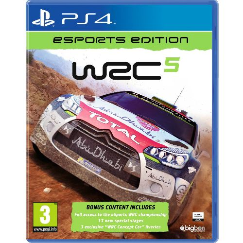 WRC 5 esports Edition PS4 Game