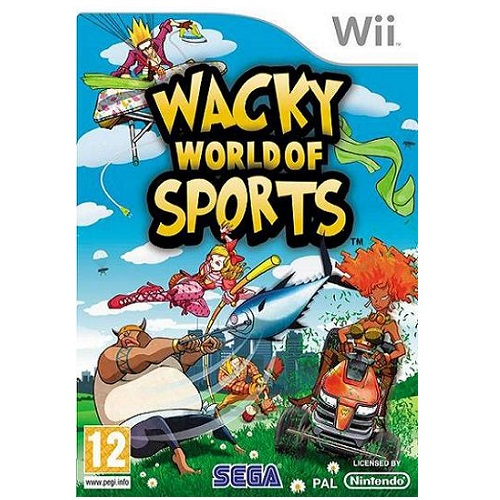 Wacky World of Sports Nintendo Wii Game