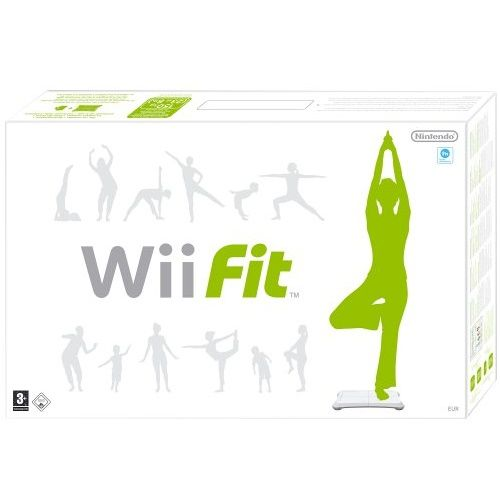 Wii Fit With Balance Board Nintendo Wii Game