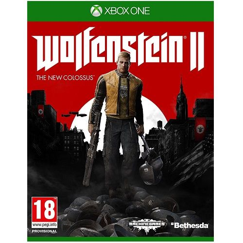 Wolfenstein 2 The New Colossus Xbox One Game
