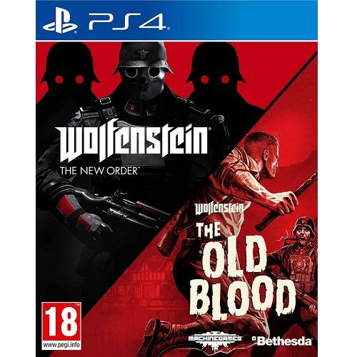 Wolfenstein The Two Pack PS4 Game