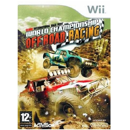 World Championship Off Road Racing Nintendo Wii Game