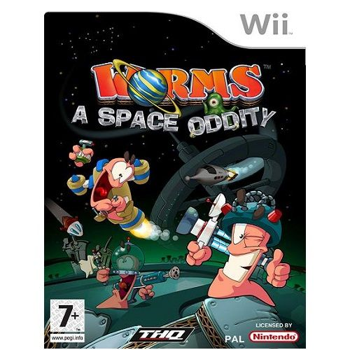 Worms a Space Oddity Nintendo Wii Game