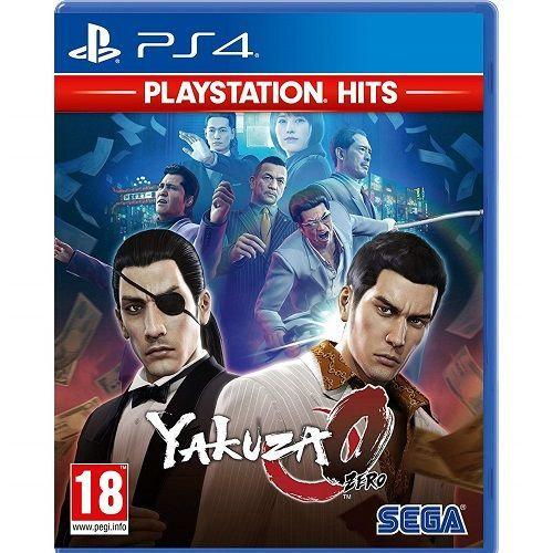 Yakuza 0 PlayStation Hits PS4 Game