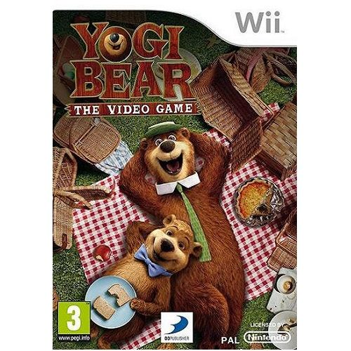 Yogi Bear Nintendo Wii Game