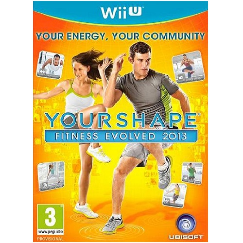 Your Shape Fitness Evolved 2013 Wii U Game