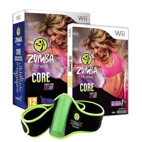 Zumba Fitness Core (Incl Zumba Belt) Nintendo Wii Game