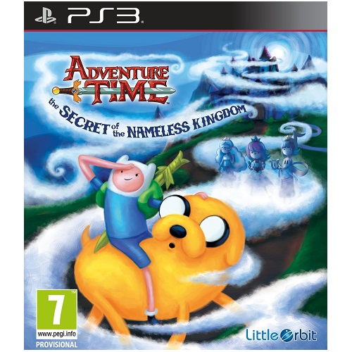 Adventure Time The Secret of the Nameless Kingdom PS3 Game