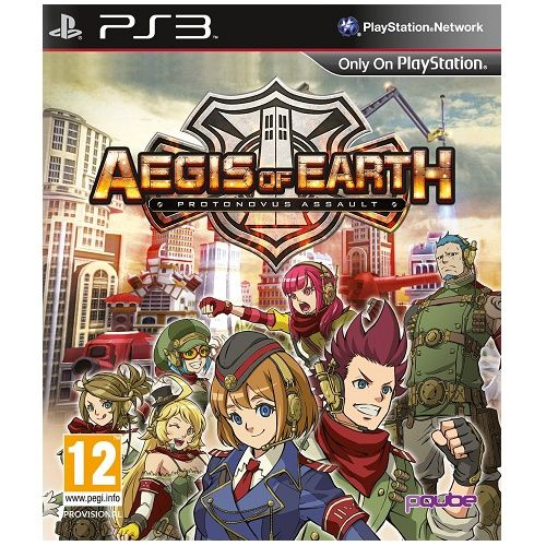 Aegis of Earth Protonovus Assault PS3 Game