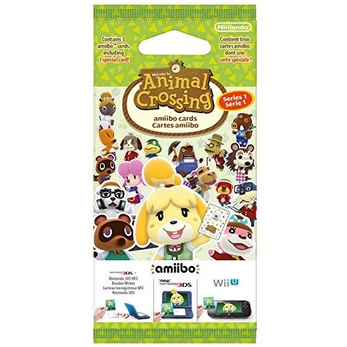 Animal Crossing Happy Home Designer 3 Card Pack
