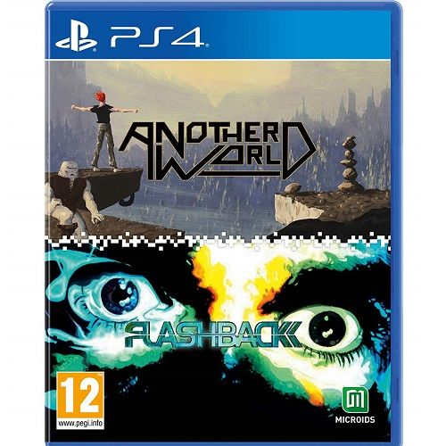 Another World & Flashback Double Pack PS4 Game