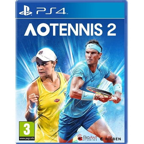 AO Tennis 2 PS4 Game