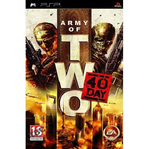 Army of Two The 40th Day PSP Game