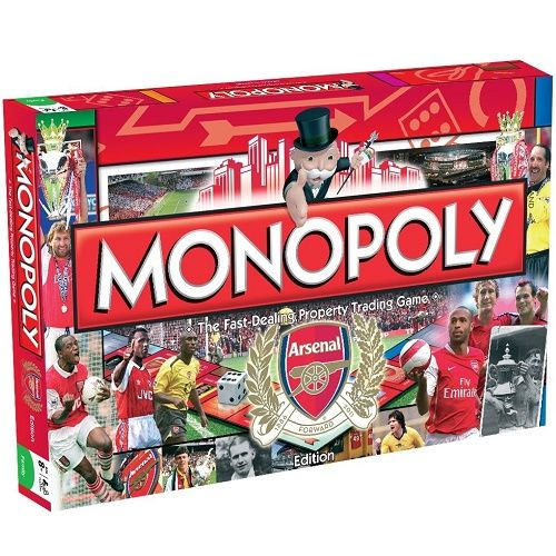 Arsenal FC Edition Monopoly Board Game