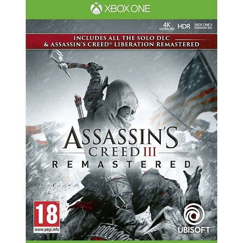 Assassins Creed III (3) REMASTERED Xbox One Game
