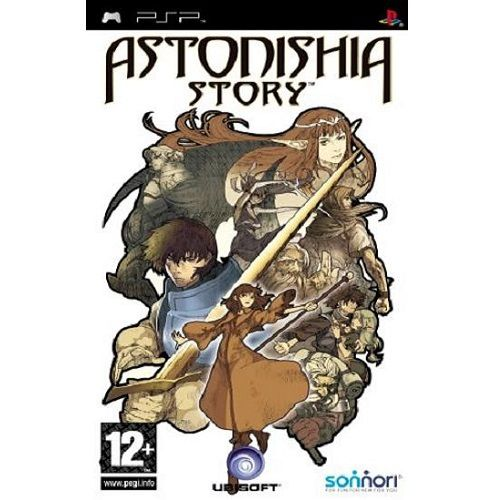 Astonishia Story PSP Game