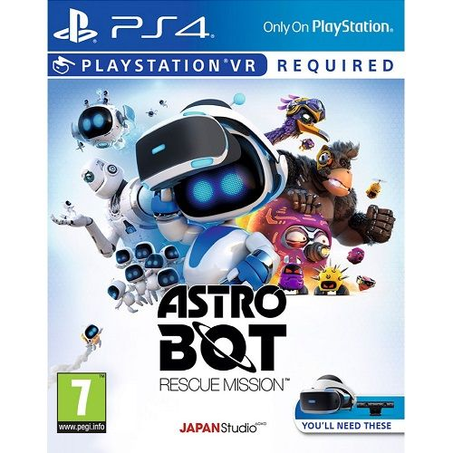 Astro Bot Rescue Mission [PSVR Required] PS4 Game