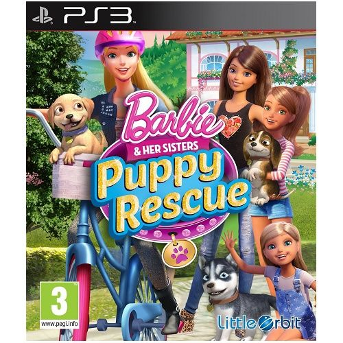 Barbie and Her Sisters Puppy Rescue PS3 Game
