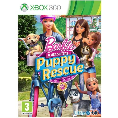 Barbie and Her Sisters Puppy Rescue Xbox 360 Game