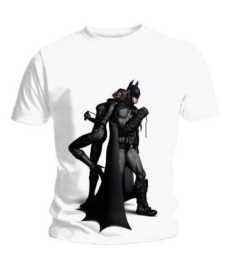 Buy Batman Arkham City: Back To Back T-Shirt from Gamereload.co.uk | Free UK delivery