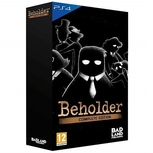 Beholder Complete Edition Collectors Edition PS4 Game