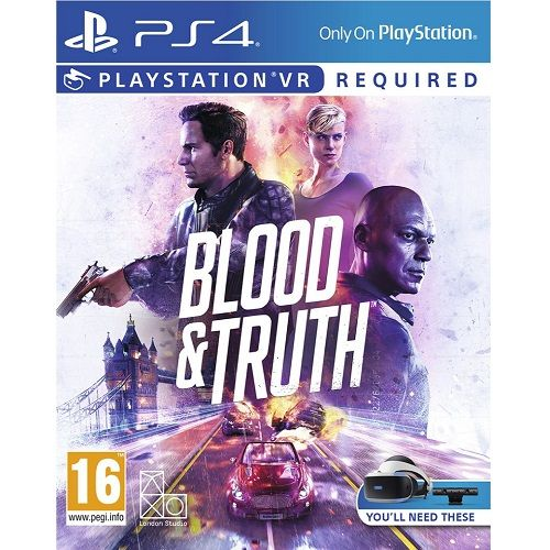 Blood & Truth [PSVR Required] PS4 Game