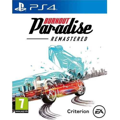 Burnout Paradise REMASTERED PS4 Game