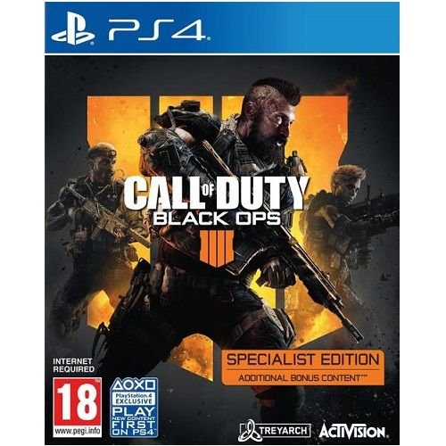 Call of Duty Black Ops 4 Specialist Edition PS4 Game