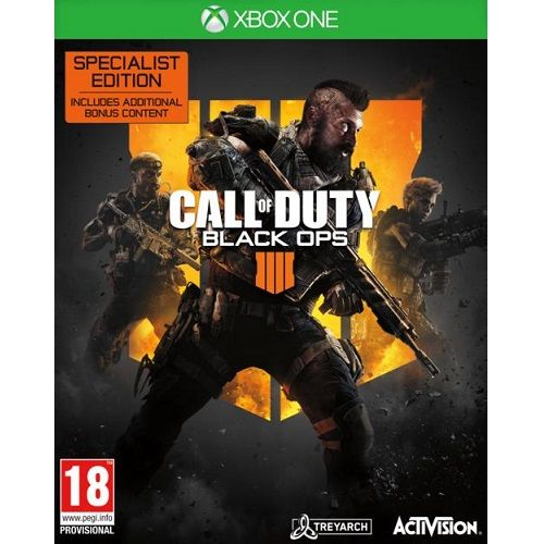 Call of Duty Black Ops 4 Specialist Edition Xbox One Game